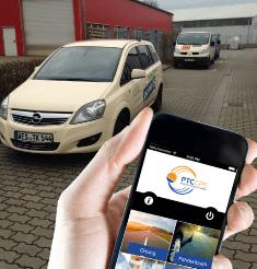 GPS-Ortungssystem im Einsatz