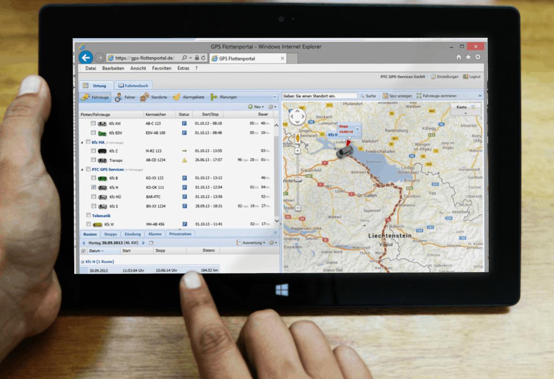 Wie funktioniert die GPS Fahrzeugüberwachung? – PTC GPS-Fahrzeugortung